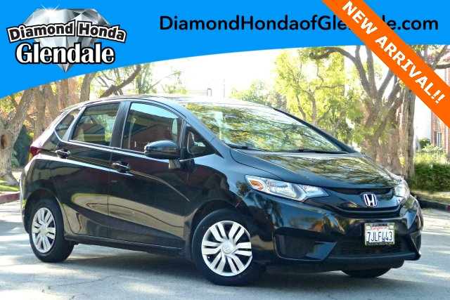 2015 Honda Fit EX Black 16 Alloy WheelsFront Bucket SeatsCloth Seat Trim160-Watt AMFMCD Aud