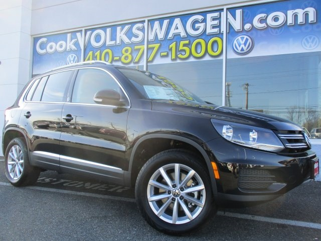 2017 Volkswagen Tiguan Wolfsburg Black Back in Black You win Cook Volkswagen has been servicing