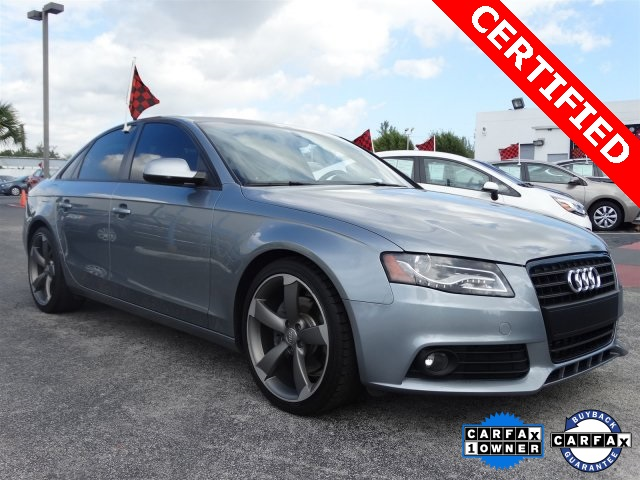 2011 Audi A4 20T Premium Gray CLEAN CARFAX ONE OWNER LOW MILES NON-SMOKER