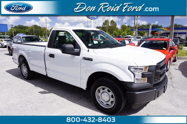 2016 Ford F-150 Regular Cab 8' Box XL