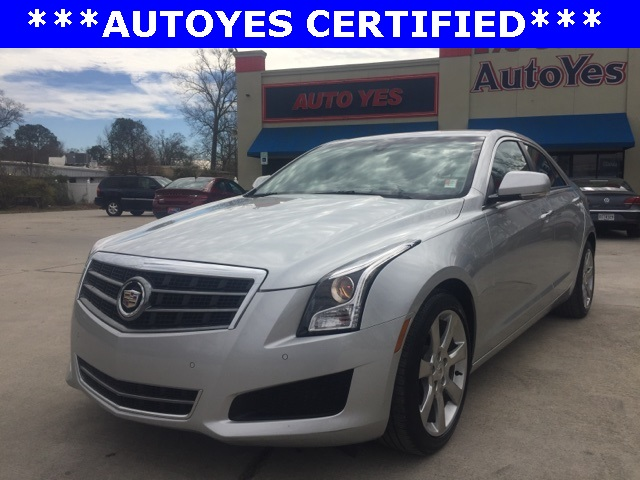 2014 Cadillac ATS 25L Luxury Silver NAVIGATION CARFAX 1-OWNER LEATHER CLEAN CAR