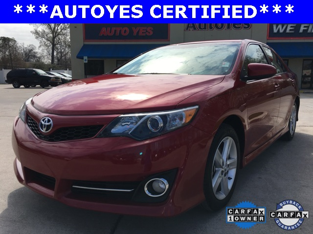 2014 Toyota Camry SE Red Recent Arrival CARFAX 1-OWNER LEATHER CLEAN CAR FAX KE