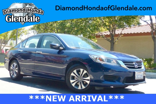 2014 Honda Accord LX Blue 16 Alloy WheelsFront Bucket SeatsCloth Seat Trim160-Watt AMFMCD A