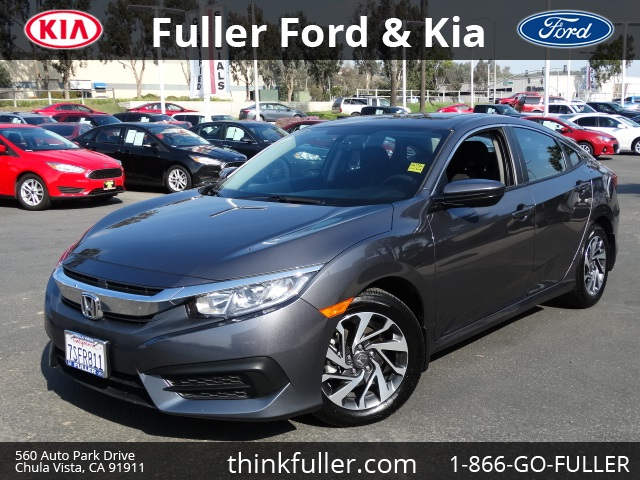 2016 Honda Civic EX Here it is What are you waiting for In business since 1946 Fuller Motors h