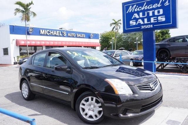 2012 Nissan Sentra 20 S Black Join us at Michaels Auto Sales Nissan FEVER If you demand the