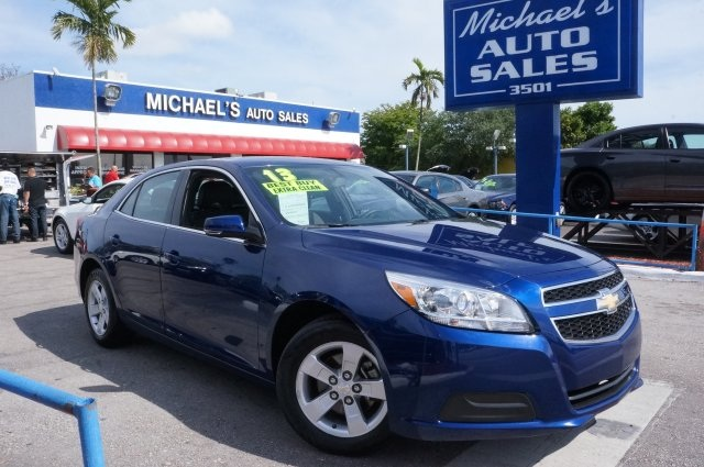 2013 Chevrolet Malibu LT Blue 99 POINT SAFETY INSPECTION and CLEAN TITLE Gasoline The M