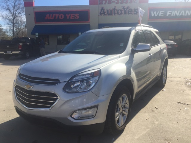 2016 Chevrolet Equinox LT Silver Clean CARFAX 2029mpgAwards-- JD Power Initial Quality