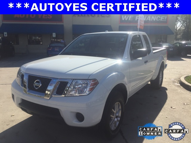 2015 Nissan Frontier SV White Just Reduced TINTED WINDOWS CARFAX 1-OWNER CLEAN CAR F