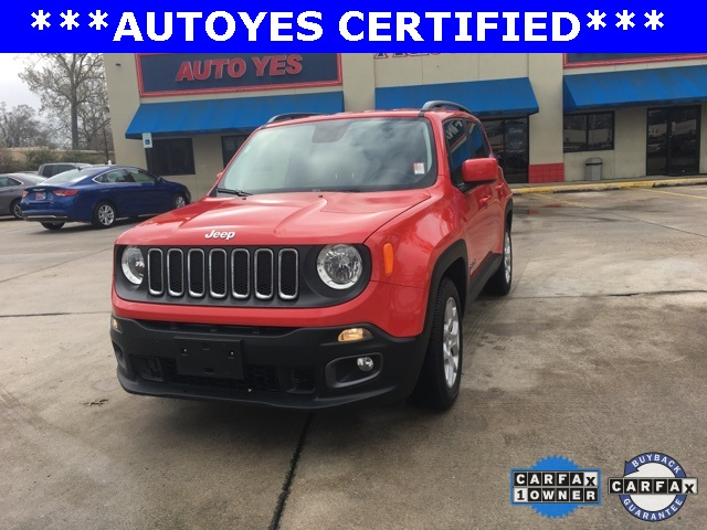 2016 Jeep Renegade Latitude Red Recent Arrival TINTED WINDOWS CARFAX 1-OWNER CLEAN C