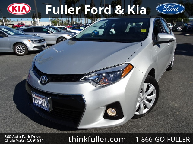 2016 Toyota Corolla S Silver Silver Bullet What a superb deal In business since 1946 Fuller Mo