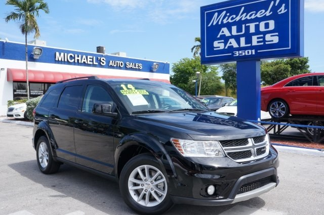 2014 Dodge Journey SXT Black In a class by itself At Michaels Auto Sales YOURE 1 There ar