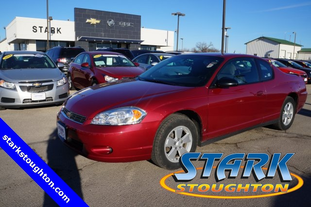 2006 Chevrolet Monte Carlo 2dr Cpe LT 3.5L RED