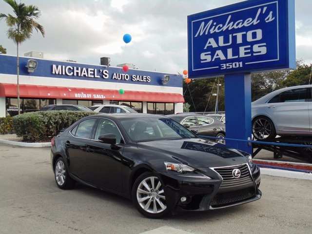 2015 Lexus IS 250 Black Switch to Michaels Auto Sales Wow Where do I start Your quest for
