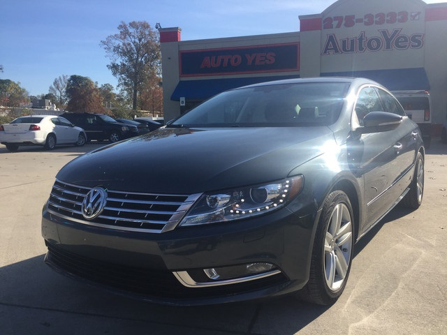 2013 Volkswagen CC Gray CARFAX One-Owner 2231mpg Odometer is 37704 miles below market average