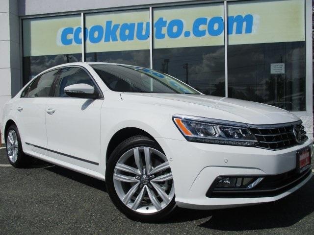2017 Volkswagen Passat 18T SEL Premium White Yes Yes Yes Yeah baby Cook Volkswagen has been