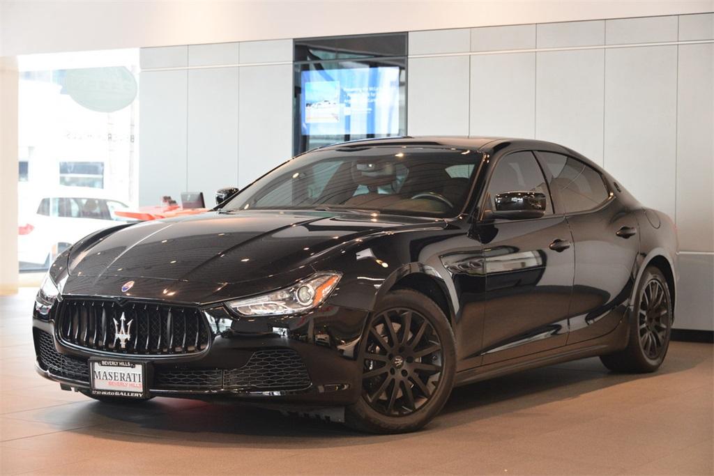 2014 Maserati Ghibli S Q4 Wheels 18 Vulcano Machined Polished Alloy6-Way Power Front Bucket Sea