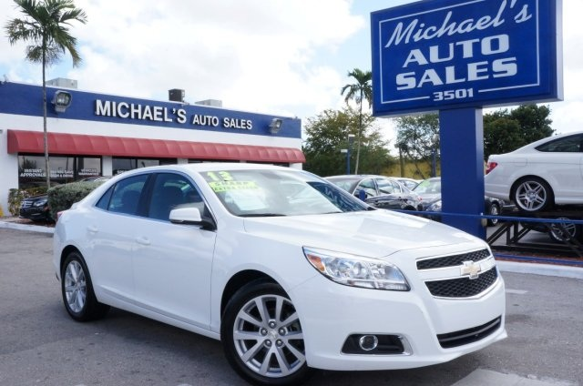2013 Chevrolet Malibu LT White Michaels Auto Sales means business Car buying made easy This