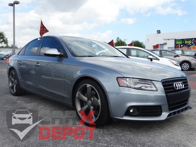 2011 Audi A4 Gray CVT with Multitronic Has sticking power Traction control keeps you from slip