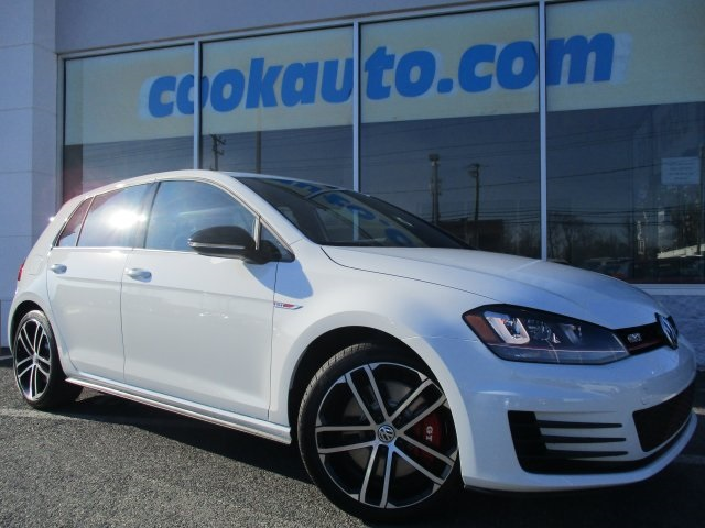 2017 Volkswagen Golf GTI Sport 4-Door White Volkswagen FEVER No games just business Cook Volks