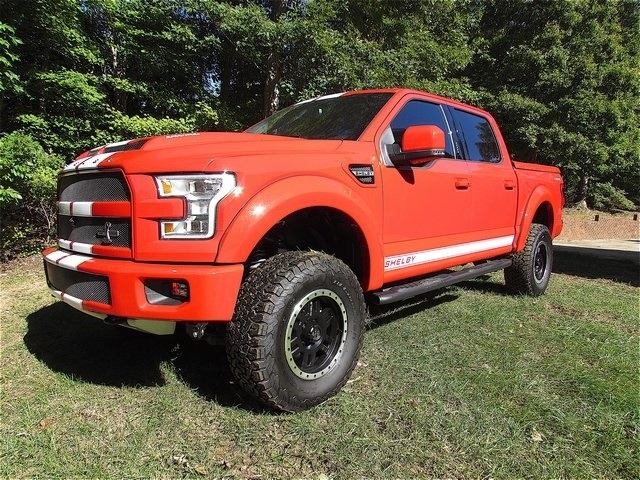 2016 Ford F-150 Shelby Supercharged: 2016 Ford F-150 Shelby Supercharged Race Red 4D SuperCrew 5.0L V8 FFV 6-Speed Au